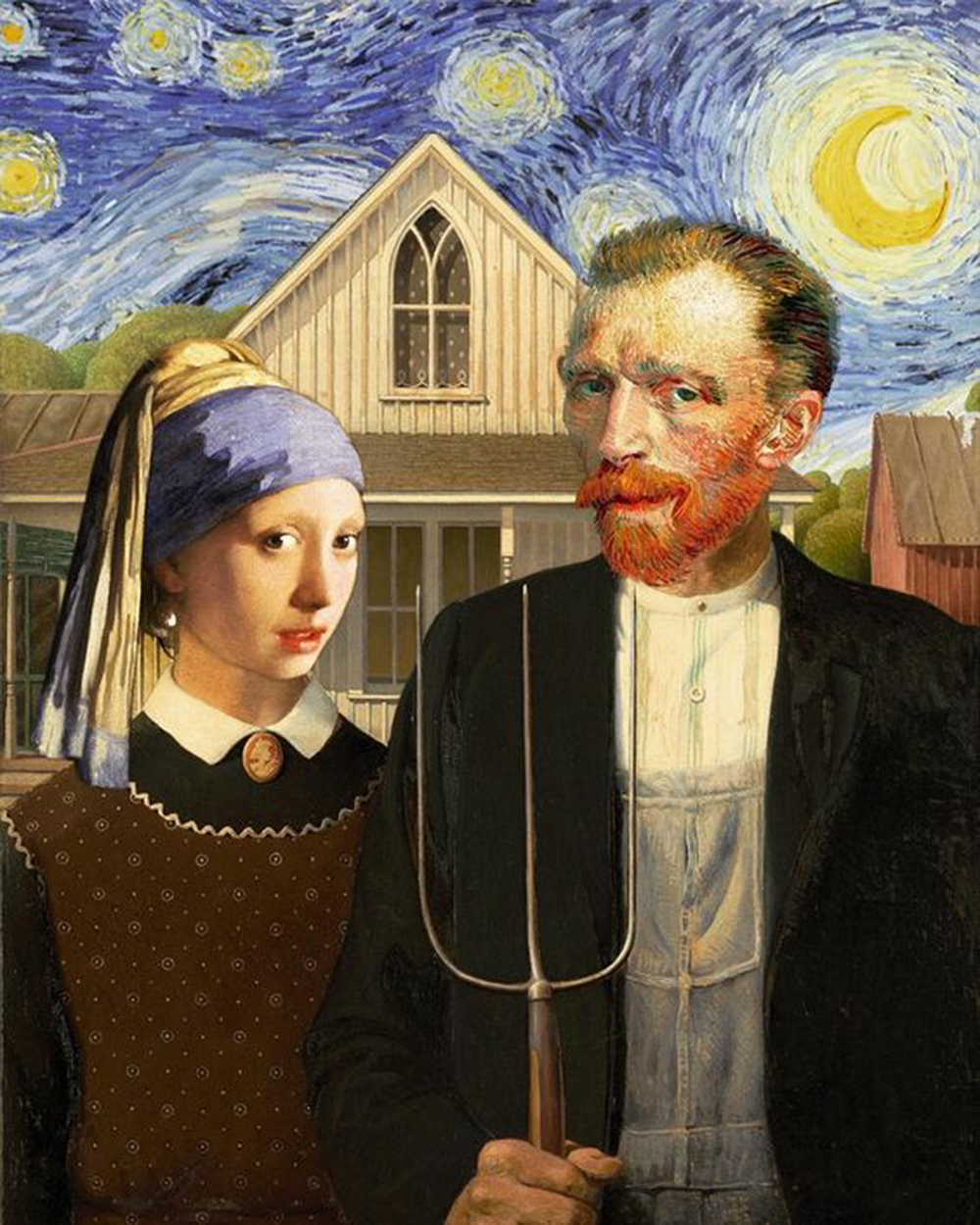 Seriously Funny: American Gothic Parodies